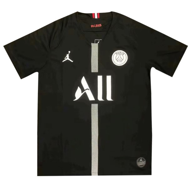 Camiseta Paris Saint Germain JORDAN All Tercera 2018/2019 Negro Replicas Futbol