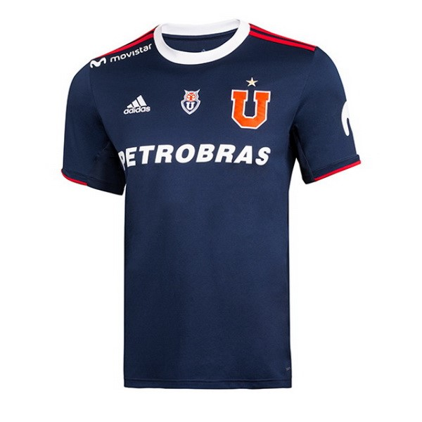 Camiseta Universidad De Chile Primera 2019/2020 Azul Replicas Futbol