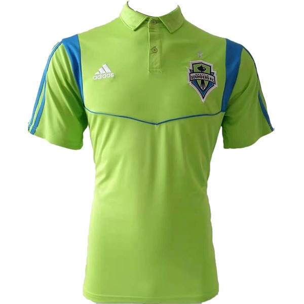 Polo Seattle Sounders 2019/2020 Verde Fluorescente Replicas Futbol