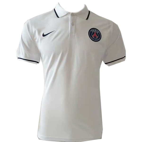 Polo Paris Saint Germain 2019/2020 Blanco Replicas Futbol