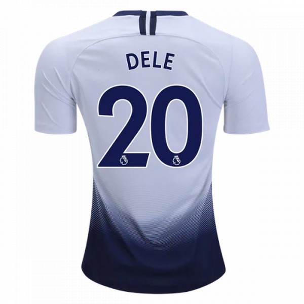 Camiseta TH Primera Dele 2018/2019 Blanco Replicas Futbol
