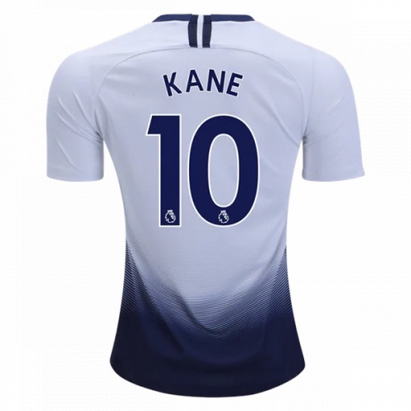 Camiseta TH Primera Kane 2018/2019 Blanco Replicas Futbol