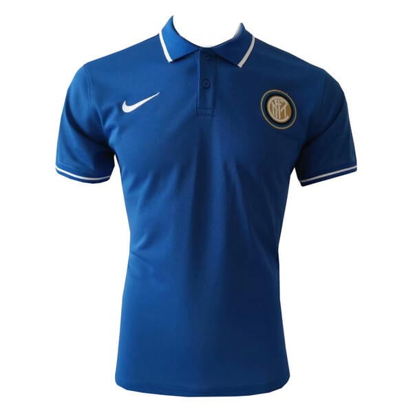 Polo Inter Milan 2019/2020 Azul Replicas Futbol
