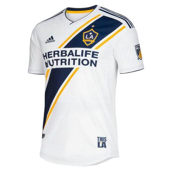 Camiseta Los Angeles Galaxy Primera 2019/2020 Blanco Replicas Futbol