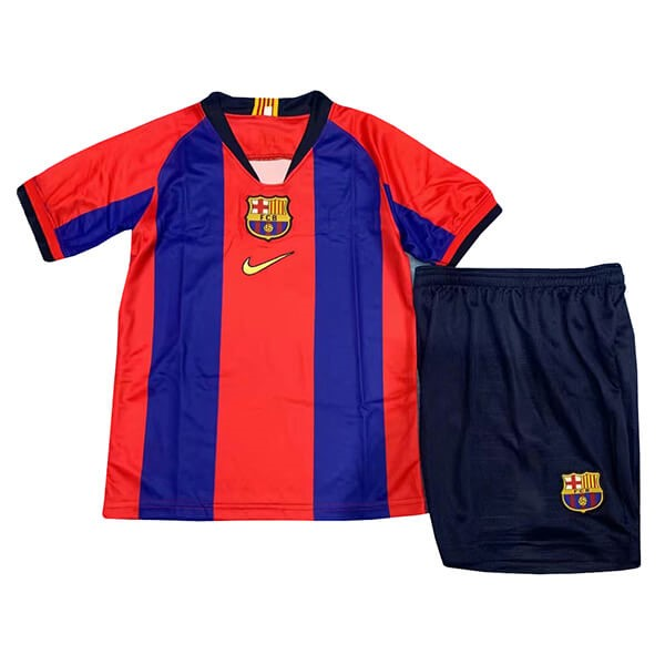 Camiseta Barcelona Edition commémorative Niño 2019/2020 Azul Rojo Replicas Futbol