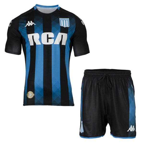 Camiseta Racing Club Segunda Niño 2019/2020 Negro Replicas Futbol