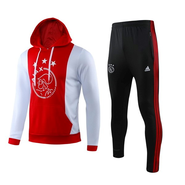 Chandal Ajax 2019/2020 Rojo Blanco Replicas Futbol