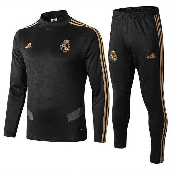 Chandal Real Madrid 2019/2020 Negro Gris