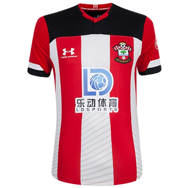Camiseta Southampton Under Armour Primera 2019/2020 Rojo Blanco