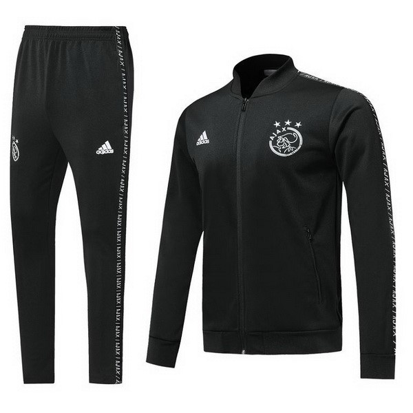 Chandal Ajax 2019/2020 Negro Blanco