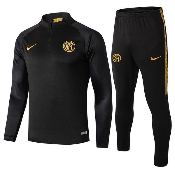 Chandal Inter Milan 2019/2020 Negro Amarillo