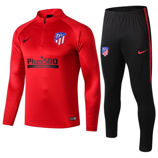 Chandal Atletico Madrid 2019/2020 Rojo Negro