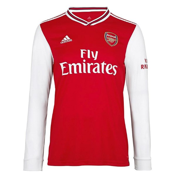 Camiseta Arsenal Primera ML 2019/2020 Rojo Replicas Futbol
