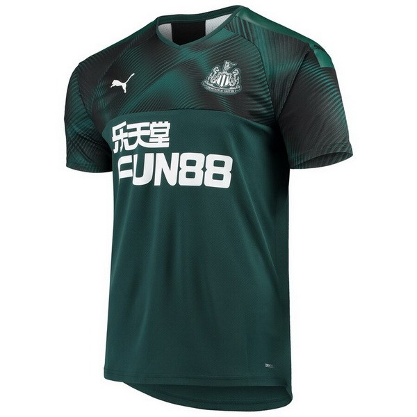 Camiseta Newcastle United Segunda 2019/2020 Verde Replicas Futbol