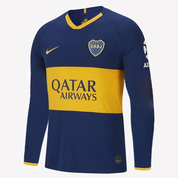 Camiseta Boca Juniors Primera ML 2019/2020 Azul Replicas Futbol
