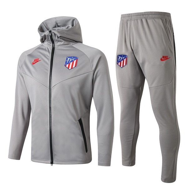 Chandal Atletico Madrid 2019/2020 Rojo Gris Replicas Futbol