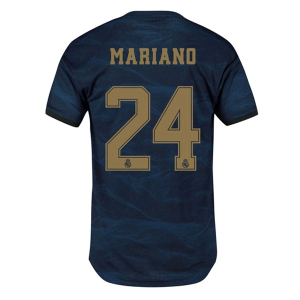 Camiseta Real Madrid NO.24 Mariano Segunda 2019/2020 Azul Replicas Futbol