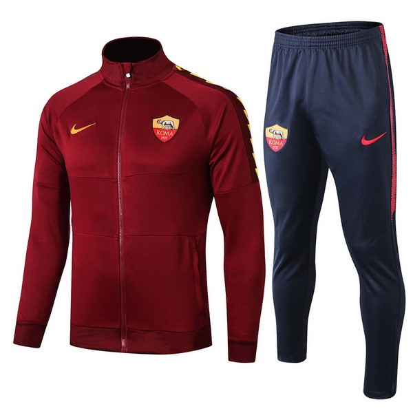 Chandal Niños AS Roma 2019/2020 Rojo Marino Replicas Futbol