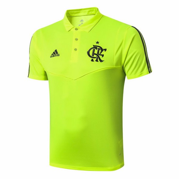 Polo Flamenco 2019/2020 Verde Fluorescente Replicas Futbol