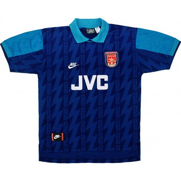 Camiseta Arsenal Segunda Retro 1994 1995 Azul Replicas Futbol