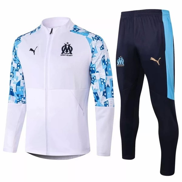 Chandal Marsella 2020/2021 Azul Blanco Replicas Futbol