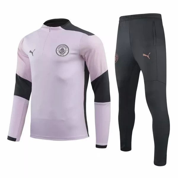 Chandal Manchester City 2020/2021 Rosa Negro