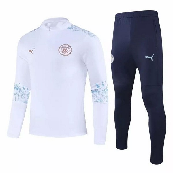 Chandal Manchester City 2020/2021 Blanco Azul