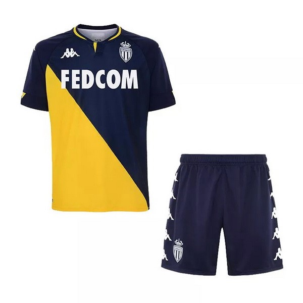 Camiseta AS Monaco Segunda Niños 2020/2021 Amarillo