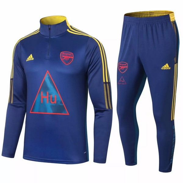 Chandal Arsenal 2020/2021 Azul Marino Amarillo