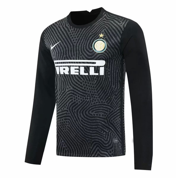 Camiseta Inter Milan ML Portero 2020/2021 Negro