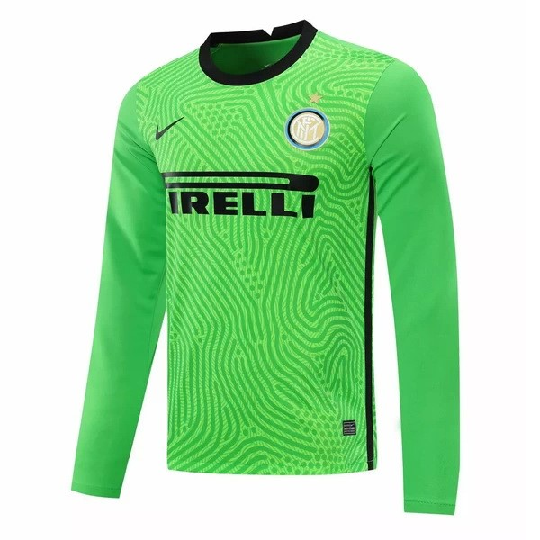 Camiseta Inter Milan ML Portero 2020/2021 Verde
