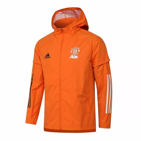 Rompevientos Manchester United 2021/2022 Naranja