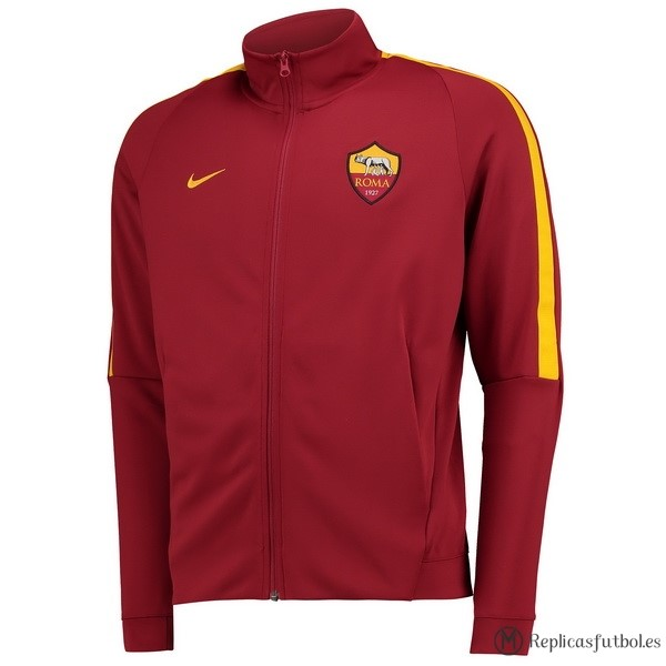 Chaqueta AS Roma 2017/18 Rojo Replicas Futbol
