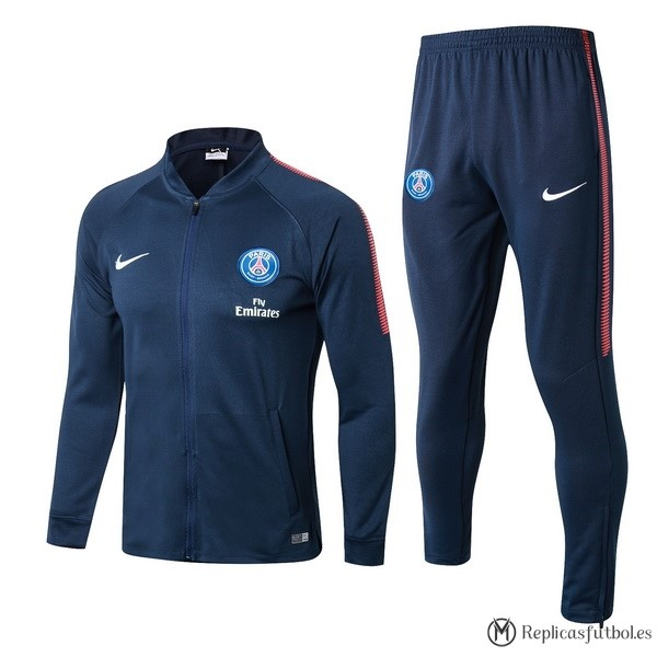 Chandal Paris Saint Germain 2017/2018 Azul Marino Replicas Futbol