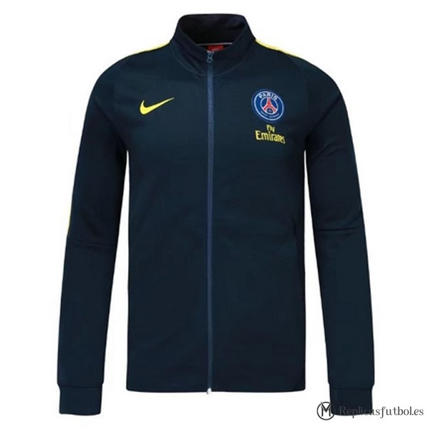 Chaqueta Paris Saint Germain 2017/2018 Azul Marino Replicas Futbol