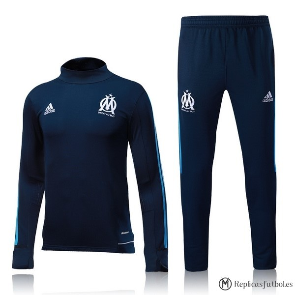 Chandal Marsella 2017/2018 Azul Replicas Futbol