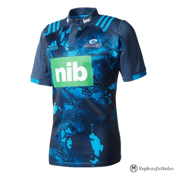 Camiseta Blues 2017/2018 Azul Replicas Rugby
