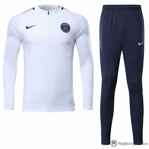 Chandal Paris Saint Germain 2017/2018 Blanco Replicas Futbol