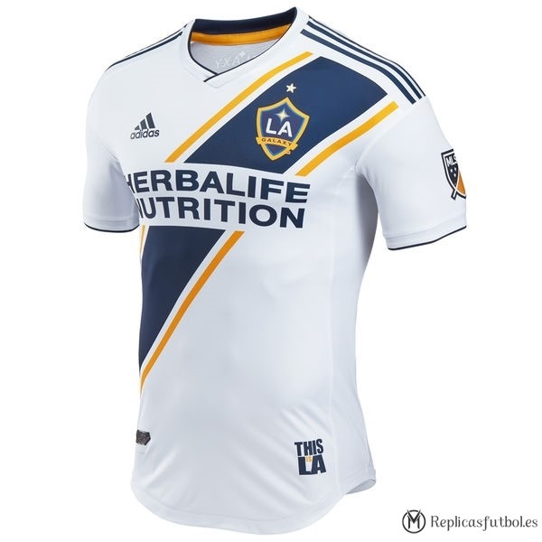 Camiseta Los Angeles Galaxy Primera 2017/2018 Blanco Replicas Futbol