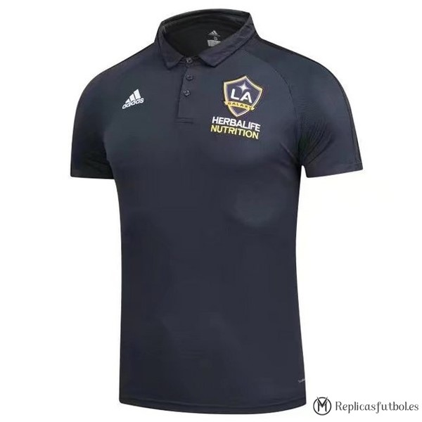 Polo Los Angeles Galaxy 2017/2018 Negro Replicas Futbol