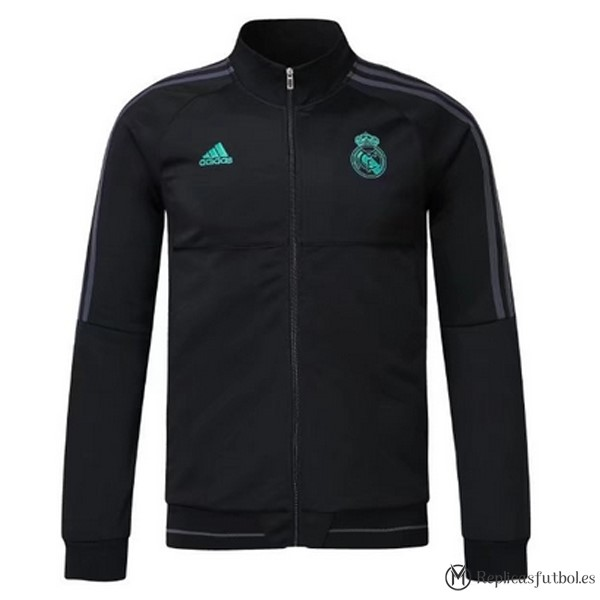 Chaqueta Real Madrid 2017/2018 Negro Replicas Futbol
