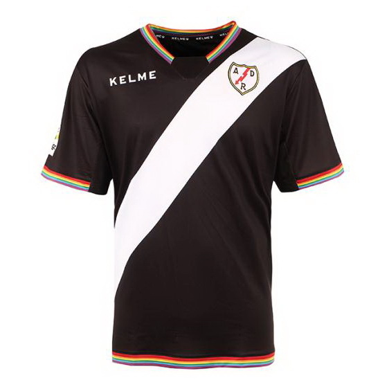 Camiseta Rayo Vallecano de Madrid Tercera 2017/2018 Replicas Futbol