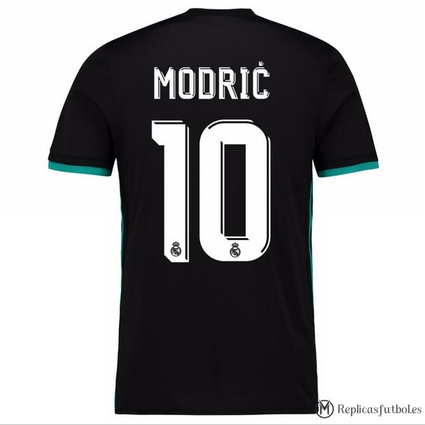 Camiseta Real Madrid Segunda Modric 2017/2018 Replicas Futbol