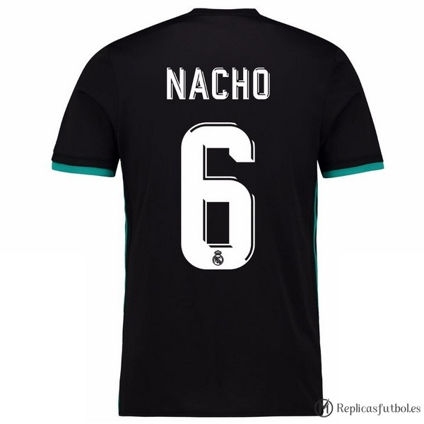 Camiseta Real Madrid Segunda Nacho 2017/2018 Replicas Futbol