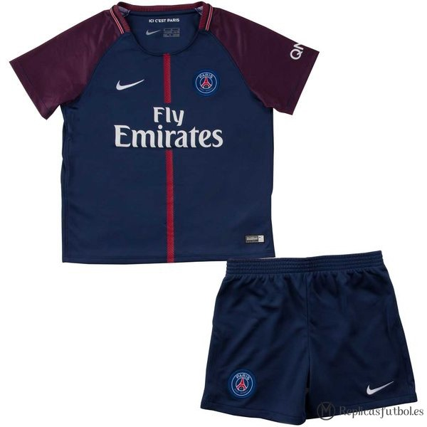 Camiseta Paris Saint Germain Niño Primera 2017/2018 Replicas Futbol