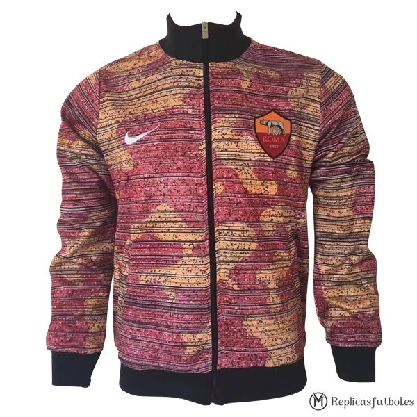 Chaqueta AS Roma 2017/2018 Rosa Replicas Futbol