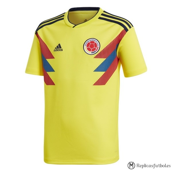 Camiseta Seleccion Colombia Primera 2018 Replicas Futbol