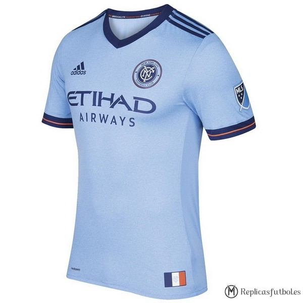 Camiseta New York City Primera 2017/2018 Replicas Futbol