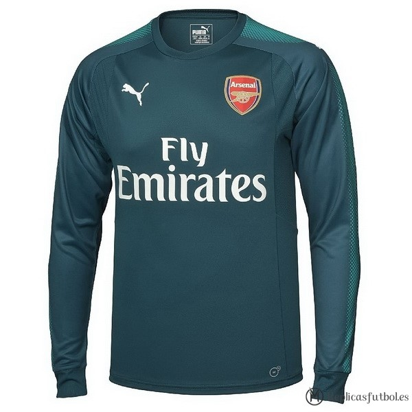 Camiseta Arsenal Primera ML Portero 2017/2018 Replicas Futbol