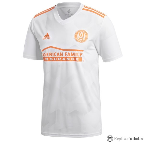 Camiseta Atlanta United Segunda 2018/19 Blanco Replicas Futbol